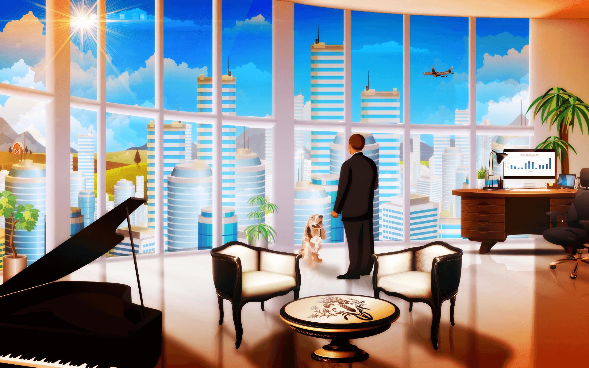 Business simulation game - Sim Companies